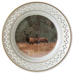 Bing & Grondahl, Plate, Animals in the Countryside | No. BNR11025-625 | DPH Trading
