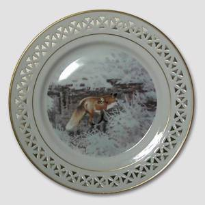 Bing & Grondahl, Plate, Animals in the Countryside | No. BNR11026-625 | DPH Trading