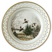 Bing & Grondahl, Plate, Animals in the Countryside, Pheasants