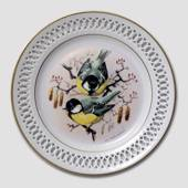 Bing & Grondahl Plate, Songbirds, Great tit