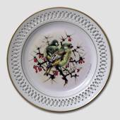 Bing & Grondahl Plate, Songbirds, Greenfinch