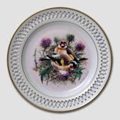 Bing & Grondahl Plate, Songbirds, Goldfinch
