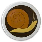Plate with snail, Bing & Grondahl