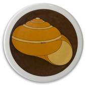 Plate with snail shelll, Bing & Grondahl