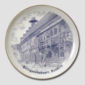 Plate with The House of the Holy Spirit. Randers