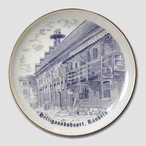 Plate with The House of the Holy Spirit. Randers | No. BNR3934-27 | DPH Trading