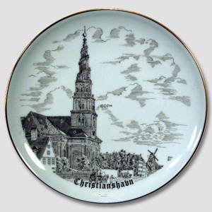 Bing & Grondahl Plate, drawing in brown | No. BNR4289-619 | DPH Trading