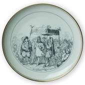 Hans Christian. Andersen fairytale plate, The Emperor´s New Clothes no. 3, ...