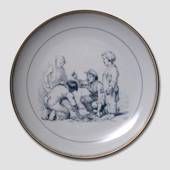 Hans Christian Andersen fairytale plate, The Darning Needle, no. 5, Bing & ...