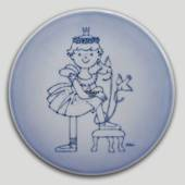 Plate with Princess, Bing & Grondahl