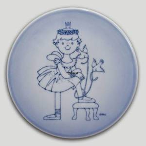 Plate with Princess, Bing & Grondahl | No. BNR4905-949 | DPH Trading