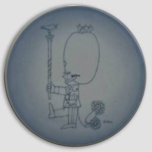 Plate with Drum major, Bing & Grondahl | No. BNR4906-949 | DPH Trading