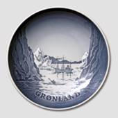 Arctic plate, Motif from Greenland, Bing & Grondahl