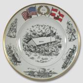 1976 Bing & Grondahl Rebild Memorial plate (Site of the Danish 4th July cel...