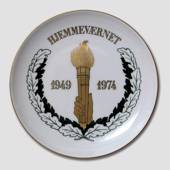 1949-1974 Memorial plate, The Home Guard Bing & Grondahl