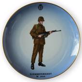 Memorial plate, The Home Guard Uniform, Bing & Grondahl