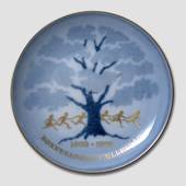 Memorial plate, The Children's Song Society 1903-1978, Bing & Grondahl