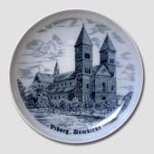 "Plate ""Viborg Cathedral"", drawing in blue"