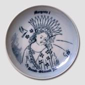 Memorial plate Margrete I Danish-Scanian Christmas, Bing & Grondahl