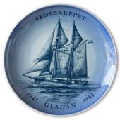 Swedish Ship plate, Gladan 1982, Bing & Grondahl