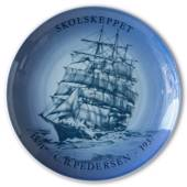 Swedish Ship plate, C. B. Pedersen 1982, Bing & Grondahl