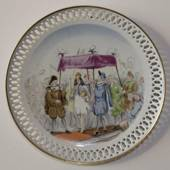 Hans Christian Andersen plate, The Emperor´s New Clothes, Bing & Grondahl
