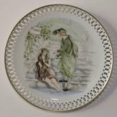Hans Christian Andersen plate, The Little Mermaid, Bing & Grondahl