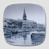 Plate with Christiansborg, Bing & Grondahl