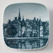 Plate with Egeskov Castle, Bing & Grondahl
