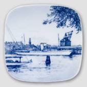 Plate with the Royal yacht, Bing & Grondahl