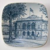 Plate with The Royal Danish Theatre, Bing & Grondahl