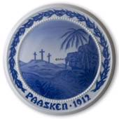 The Crosses on Golgatha 1912, Bing & Grondahl Easter plate