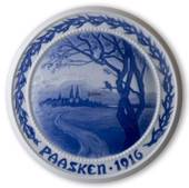 Advent of Spring 1916, Bing & Grondahl Easter plate