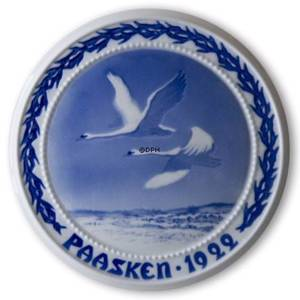Swans in the Sky 1922, Bing & Grondahl Easter plate