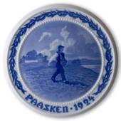 A farmer went to sow 1924, Bing & Grondahl Easter plate