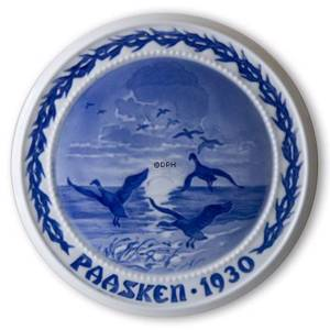 Wild Geese in the Sky1930, Bing & Grondahl Easter plate | Year 1930 | No. BP1930 | Alt. BP300 | DPH Trading