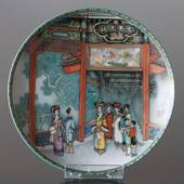 "Plate no 4 in the series ""The Summer Palace"", Ching-te-Chen"