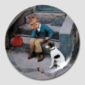 Moments of Truth plate, Home sweet home, Bing & Grondahl