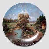 "Plate no 10 in the series ""Idyllic Countrylife"""