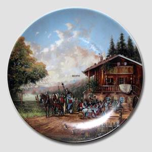 Plate no 3 in the series Idyllic Countrylife , Seltmann | Year 1986 | No. BRADEX22-C32-1-3 | Alt. DV.1876 | DPH Trading