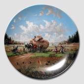 "Plate no 4 in the series ""Idyllic Countrylife"""