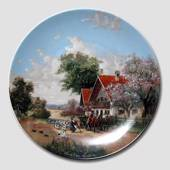 "Plate no 5 in the series ""Idyllic Countrylife"", Seltmann"