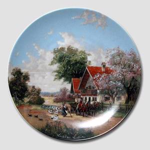 "Plate no 5 in the series ""Idyllic Countrylife"""