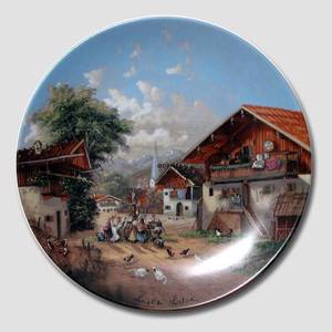 "Plate no 6 in the series ""Idyllic Countrylife"""