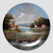 "Plate no 7 in the series ""Idyllic Countrylife"", Seltmann"