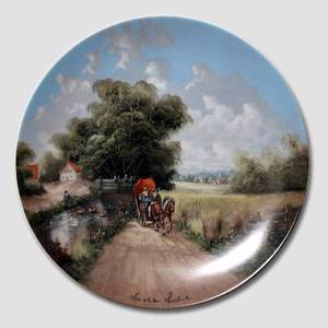 Plate no 8 in the series Idyllic Countrylife , Seltmann | Year 1987 | No. BRADEX22-C32-1-8 | Alt. DV.1876 | DPH Trading