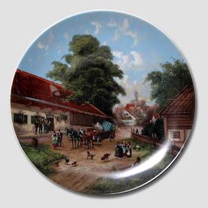 "Plate no 9 in the series ""Idyllic Countrylife"""