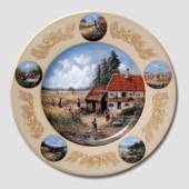"Plate in the series ""Yield"" 25cm, Seltmann"