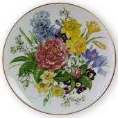 Hutschenreuter, Plate no 1 in serie Bands Bouquets of the Season