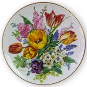 Hutschenreuter, Plate no 2 in serie Bands Bouquets of the Season